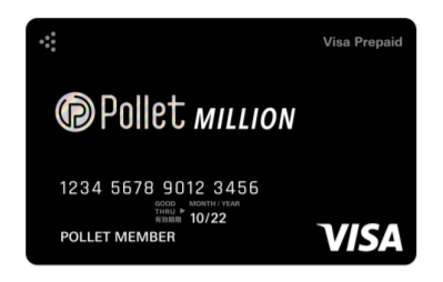 Pollet Million Polletカード